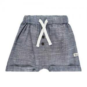 En Fant Shorts Woven Blue with Waves