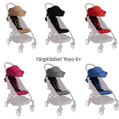 Babyzen, YOYO+ Färgklädsel 6+ Välj Färg på Tyg