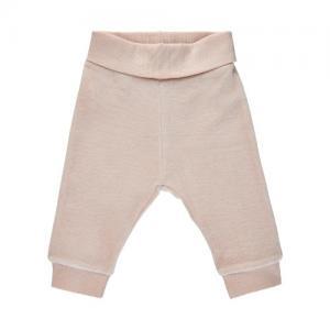 Fixoni Baby Pants Organic Cotton Velour Light Pink