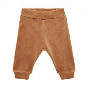 Fixoni Baby Pants Organic Cotton Velour Glazed Ginger