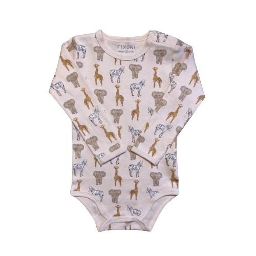 Fixoni Body Baby Pink - Safari Pattern