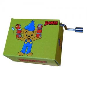Fridolin Music Box With Crank Bamse Melody: Bamses Theme Song