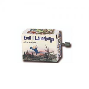 Fridolin Music Box with Lever Emil Melody: Hujedamej