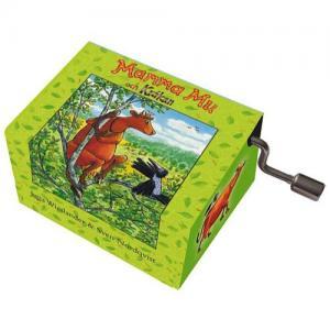 Fridolin Music Box With Crank Mamma Mu Melody: Mamma Mu