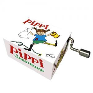 Fridolin Music Box With Crank Pippi Longstocking Melody: Pirate-Fabbe