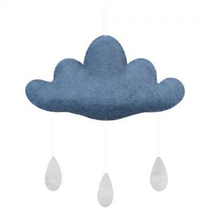 Gamcha Baby Mobile Cloud Blue