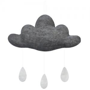 Gamcha Baby Mobile Cloud Grey