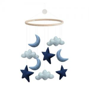 Gamcha Mobile Cloud Moon Star Blue