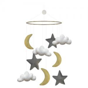 Gamcha baby mobile Moon & Stars