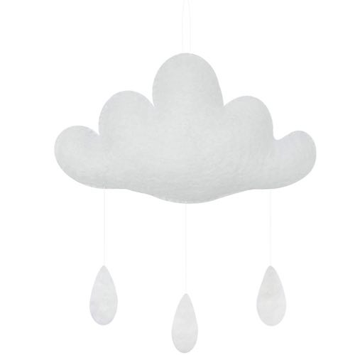 Gamcha Baby Mobile Cloud White