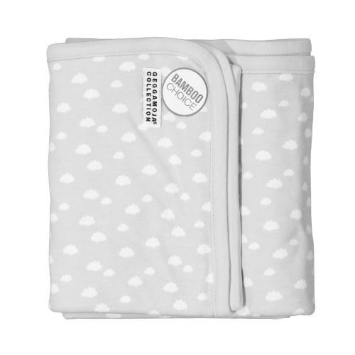 Geggamoja Baby Blanket Bamboo Grey Cloud