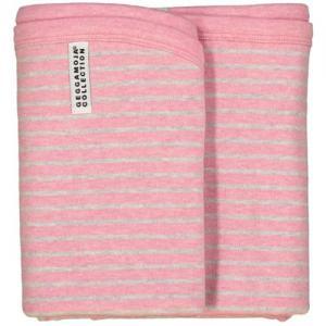 Geggamoja Babyfilt Classic Rosa/Grå One Size