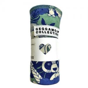 Geggamoja Cuddly Jungle Blue & Green