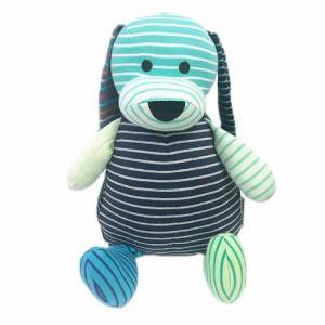 Geggamoja Stuffed Animal Doddi Dog Mixed Colors Blue 30 cm