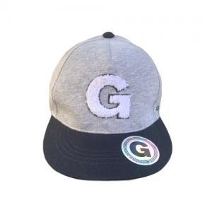 Geggamoja Cap Grey Melange