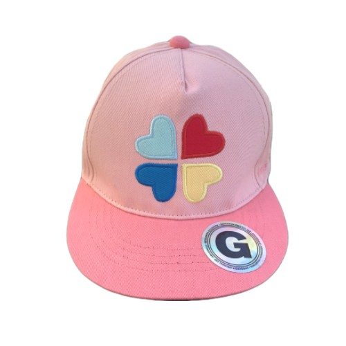 Geggamoja Cap Pink Heart