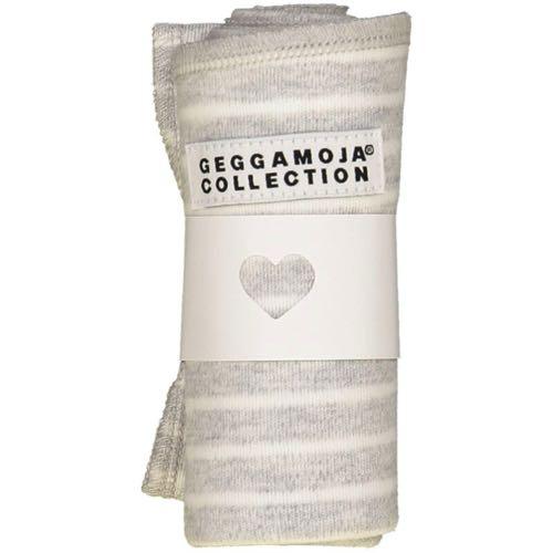 Geggamoja Cuddly Blanket Grey/White Stripe