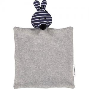 Geggamoja Cuddly Blanket Rabbit Blue Eco GOTS