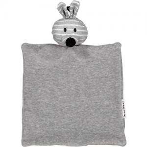Geggamoja Cuddly Blanket Rabbit Grey Eco GOTS