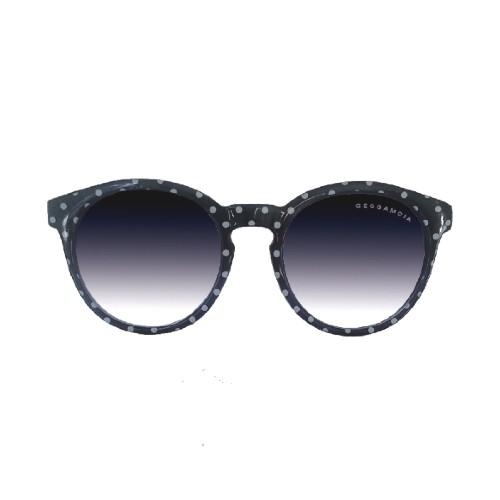 Geggamoja Solglasögon Svart Med Prickar 2-7 År