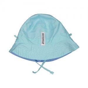 Geggamoja Sun Hat Reversible Mint / Blue