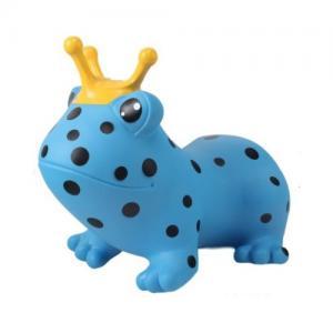 Gerardo Toys Hoppdjur Blå Prickig Groda