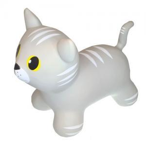 Gerardo Toys Hoppdjur Grå Katt