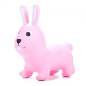 Gerardo Toys Hoppdjur Ljusrosa Kanin Hare