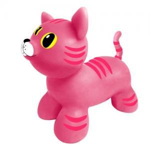 Gerardo Toys Hoppdjur Rosa Katt