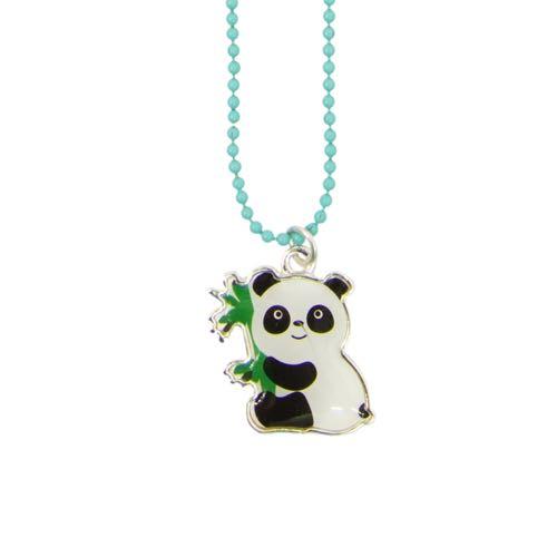 Global Affairs Necklace Panda