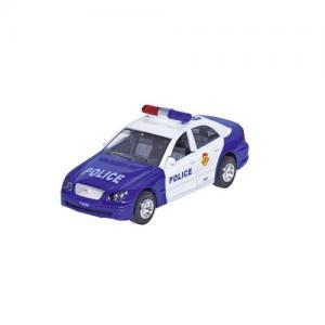 Goki Polisbil Blå / Vit med ljus och ljud