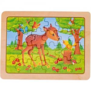 Goki Puzzle In Wood 24 Pieces 3+ Deer