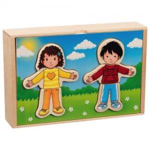 Goki Puzzle Dress Up Girl & Boy