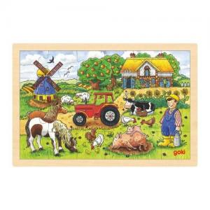 Goki Puzzle Mr Millers farm 3+ Years