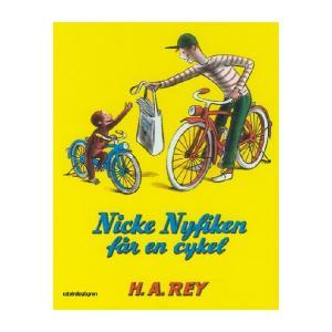 Hjelm Förlag Nicke Nyfiken Får En Cykel Bok