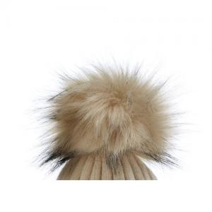 Honey & Lemon Extra Pompom Snow Beige