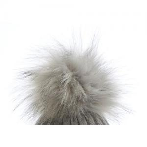 Honey & Lemon Extra Pompom Snow Grey