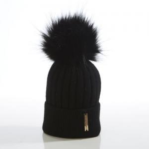 Honey & Lemon Beanie Black
