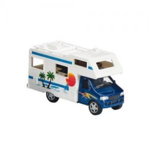 Husbil Pullback Plåtbil Blå