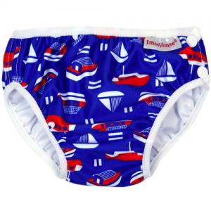 ImseVimse Swim Diaper For Babysim - Blue Sailor