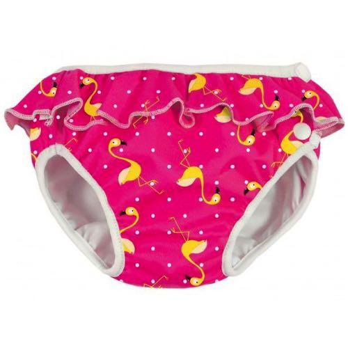 ImseVimse Badbyxa för babysim - Pink Flamingo