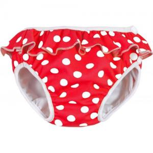 ImseVimse Swim Diaper For Babysim - Red Dots