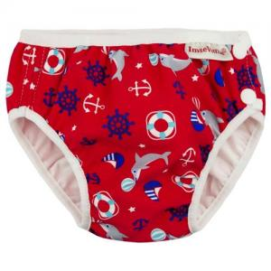 ImseVimse Swim Diaper For Babysim - Red Marine