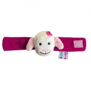 Jabadabado Wrist Rattle Sheep Pink