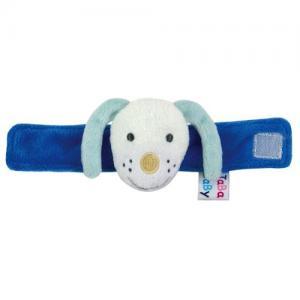 Jabadabado Wrist Rattle Dog Blue