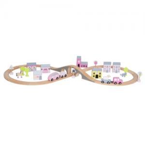 Jabadabado Car Track - Pink