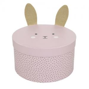 Jabadabado Storage Box Bunny Big Pink