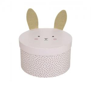 Jabadabado Storage Box Bunny Small Sand