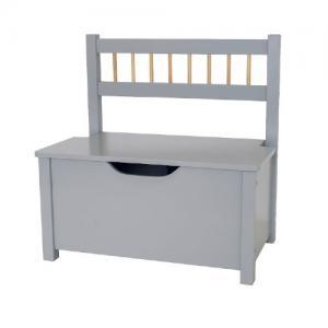 Jabadabado Storage Bench Grey