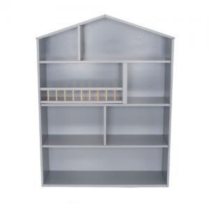 Jabadabado Shelf Big House Grey